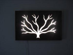 wall light sculpture