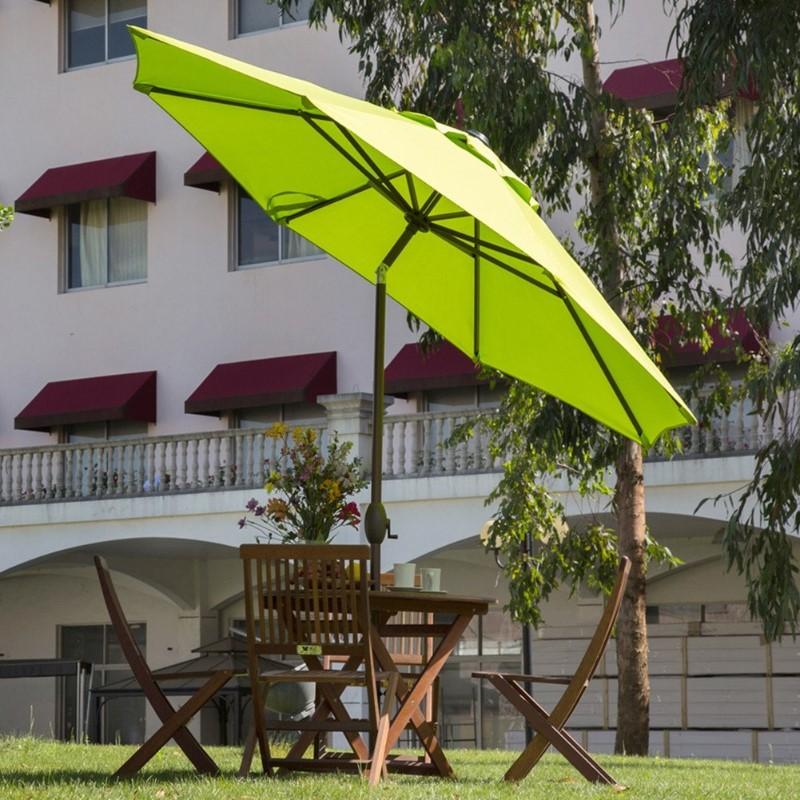 Abba lime green Patio 9 Feet Patio Umbrella with Auto Tilt