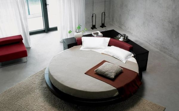 14 Modern Round Beds For Your Home In