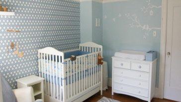 contemporary baby boy nursery room decorative ideas