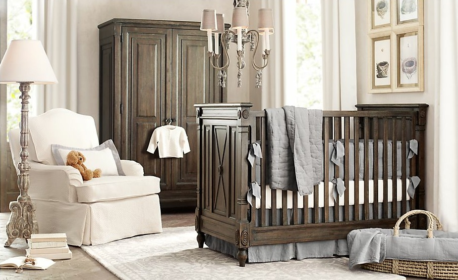 most expensive baby boy nursery room design ideas using wooden furniture