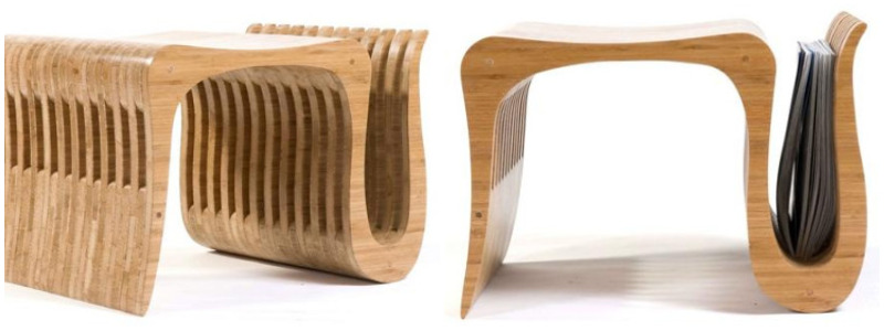 ofidio stool and magazine holder