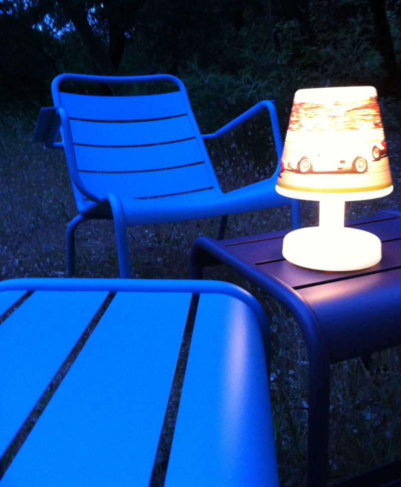 outdoor transloetje lamp by fatboy for back yard garden