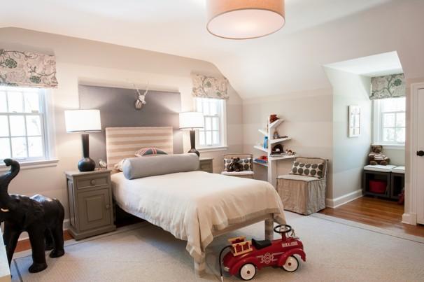 simple tree shaped bookshelf for kids bedroom
