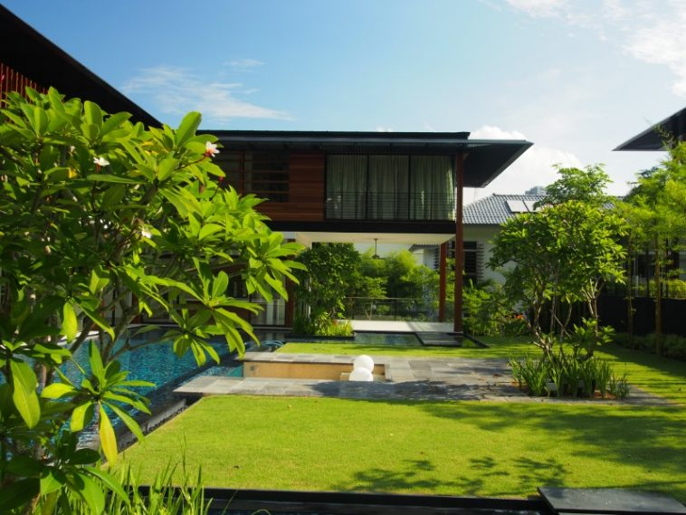 singapore architect guz design a green living space named Nathan