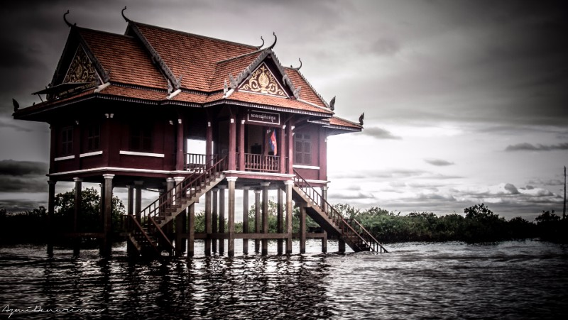 traditional khmer house architecture