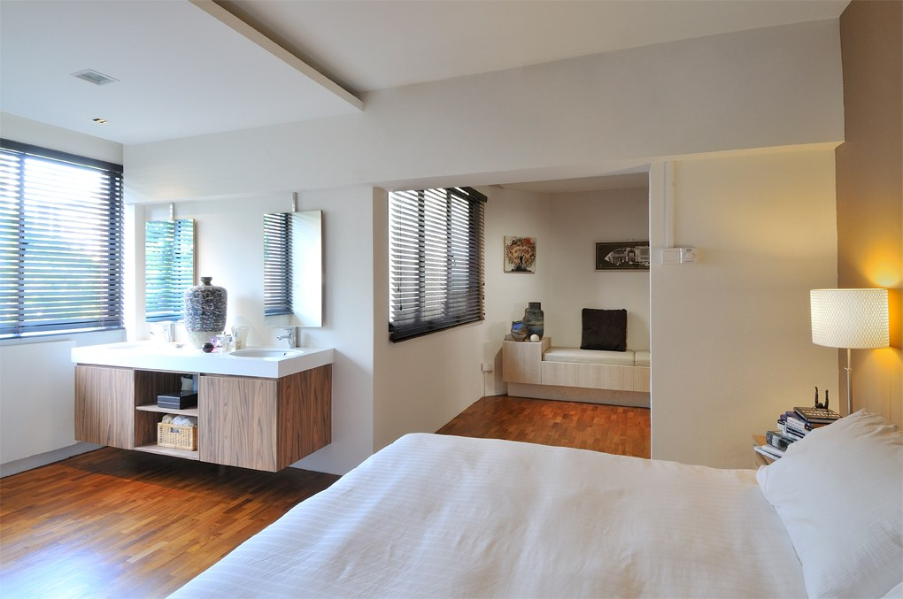 Simei HDB flat bedroom