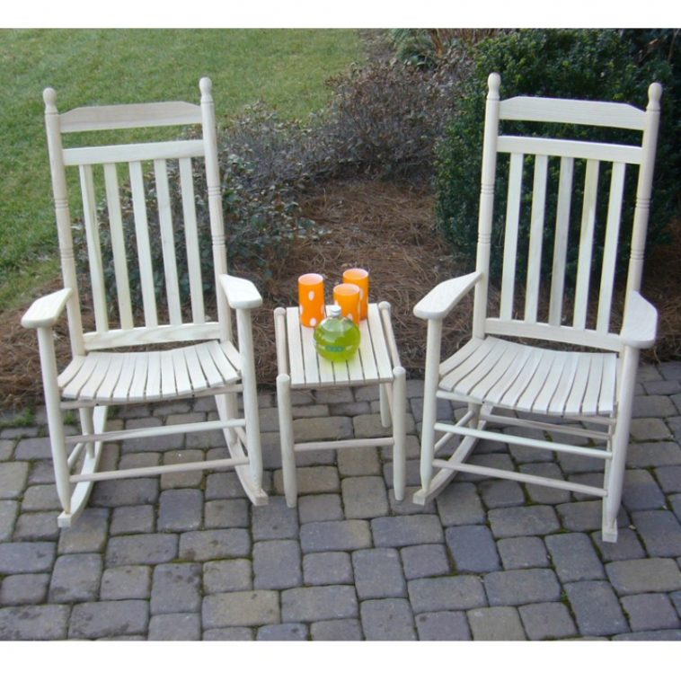 a pair of large rocking chair for adult