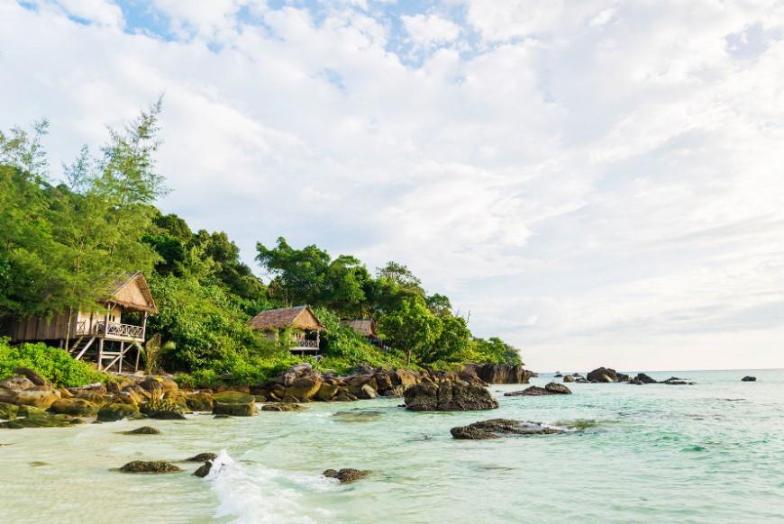 beach shack for homestay in sihanoukville cambodia