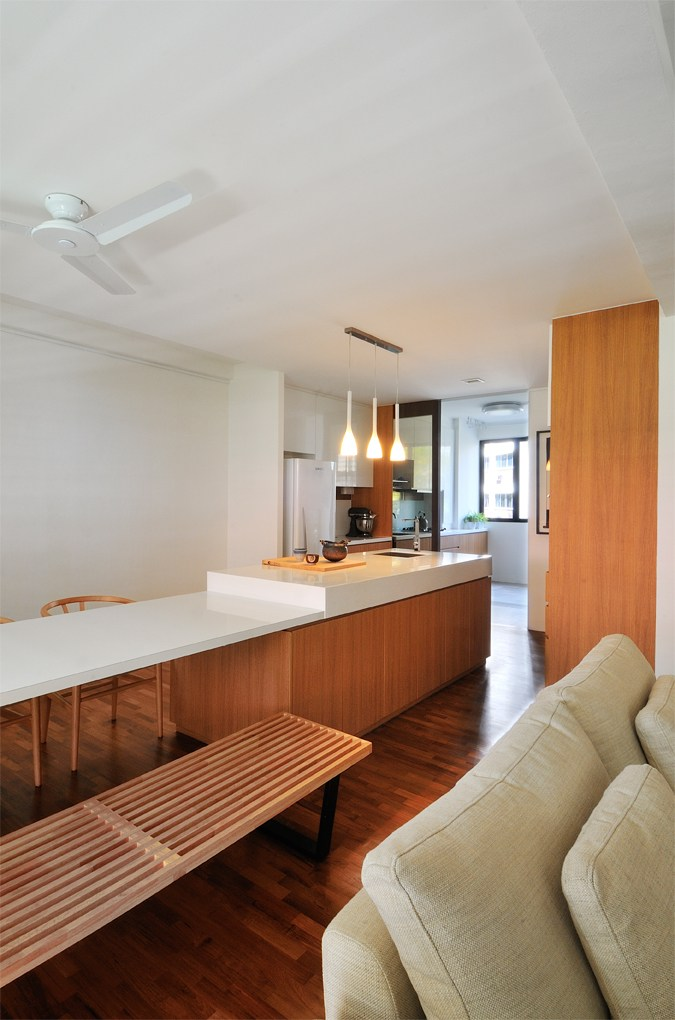 fully renovated simei HDB flat for rent