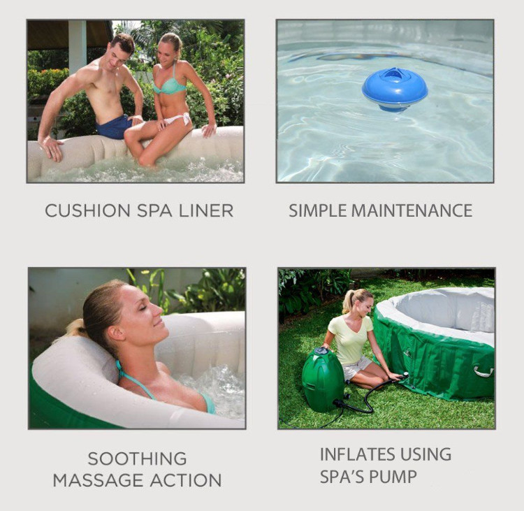 lazy portable hot tub by Coleman