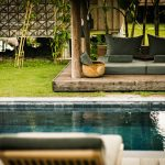 relaxing outdoor bed in phum baitang
