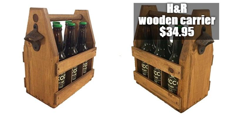 Hedge & Ruiz Emporium 6 pack beer carrier