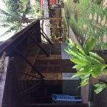 beautiful khmer decor of a traditional bungalow in cambodia
