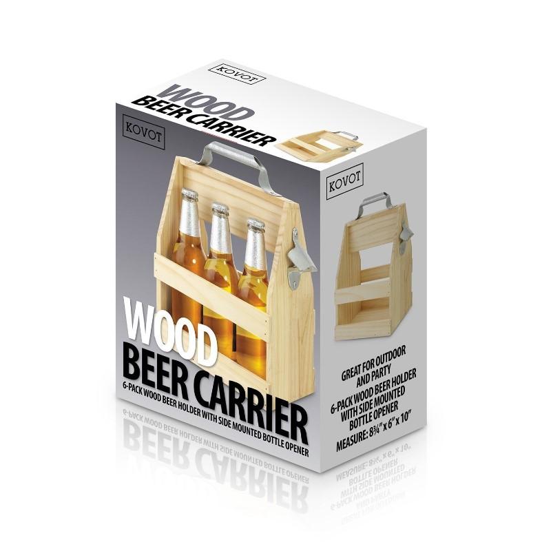 cheap plywood beer caddy under 20 dollar