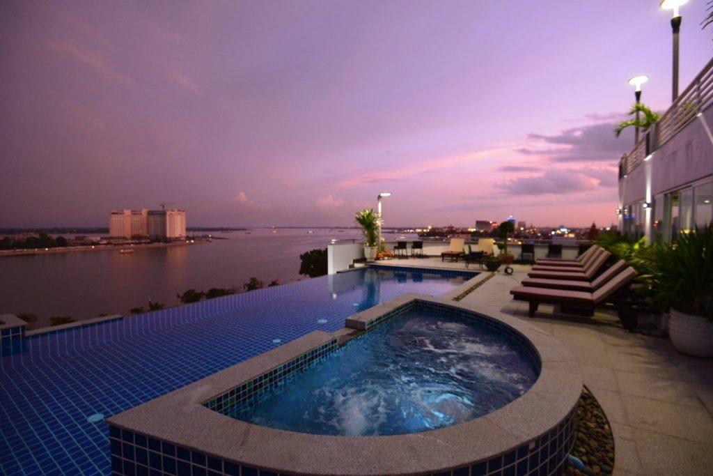 harmony hotel in phnom penh swimming pool