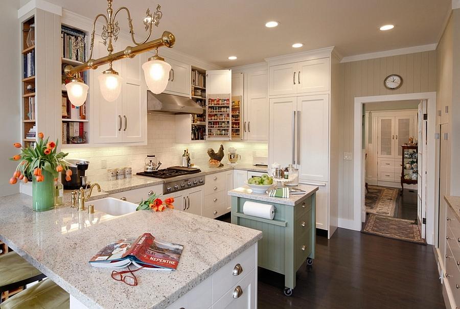 movable tiny kitchen island