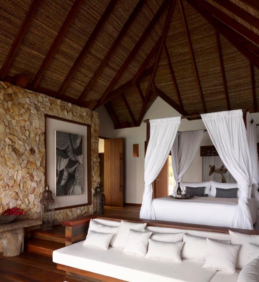 song saa island luxury hotel comfortable bed