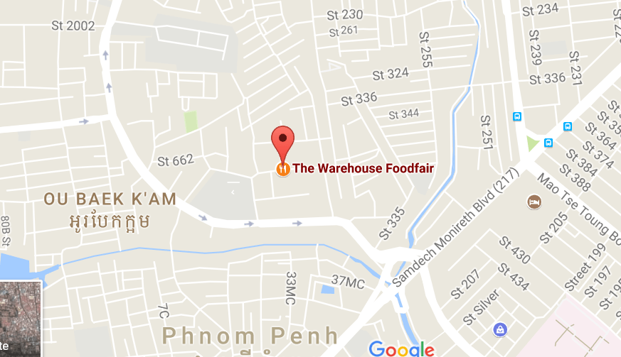 the warehouse foodfair address