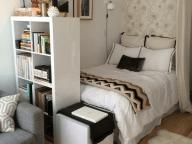 tiny ikea bedroom decor idea