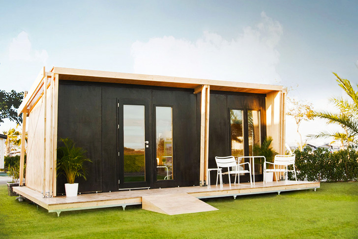 small prefab building for rent