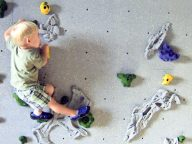 toddler-friendly rock climbing for home