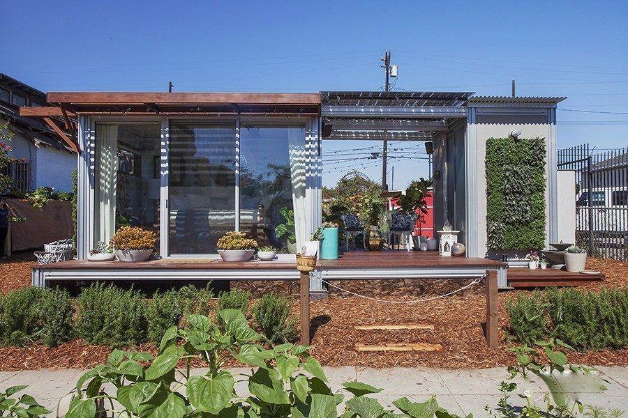 venice prebuilt concrete home exterior
