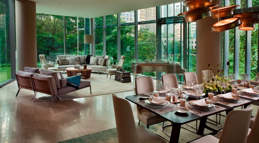 exclusive sculptura ardmore lounge area the most expensive flat in singapore