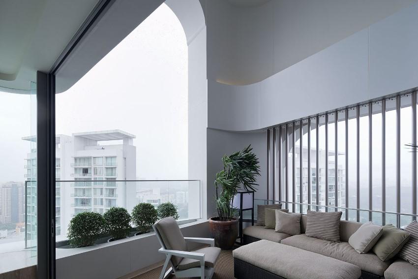 exclusive sculptura ardmore studio photo of its balcony