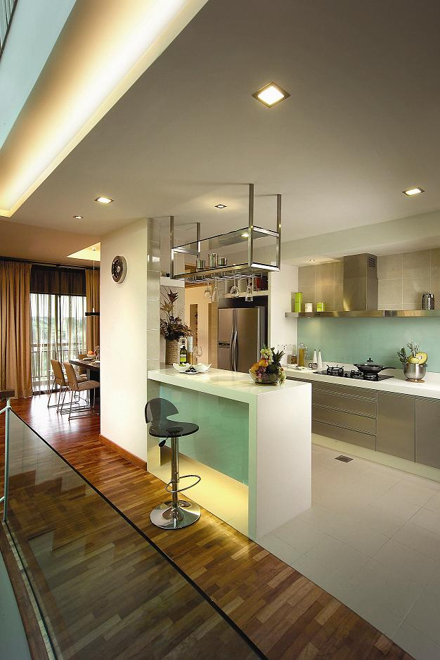 kitchen in the most expensive home of Malaysia - Sierramas West