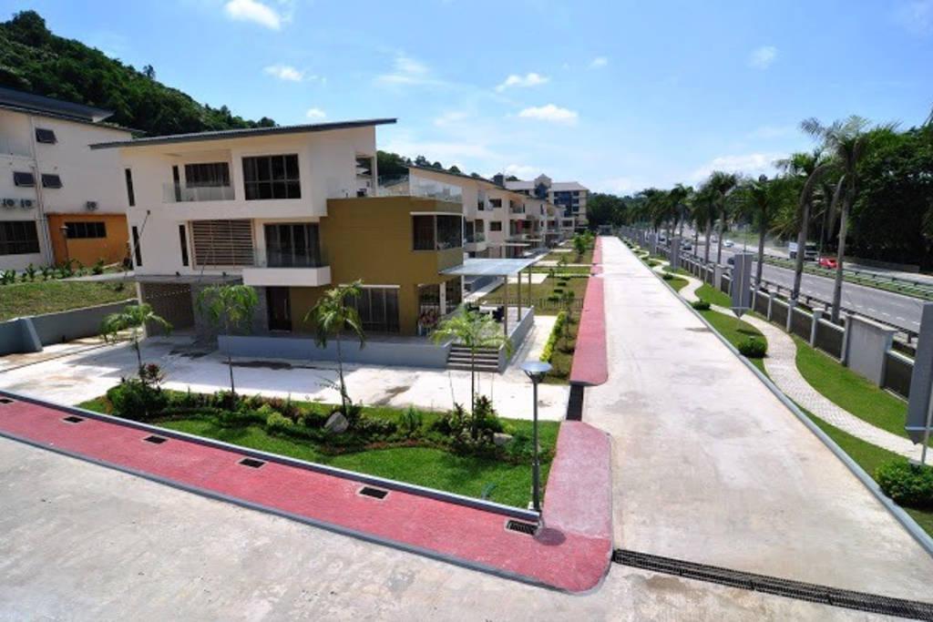 private Lanesborough villa in Brunei