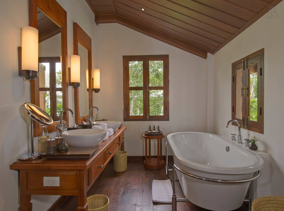 the most expensive Laos home bathroom