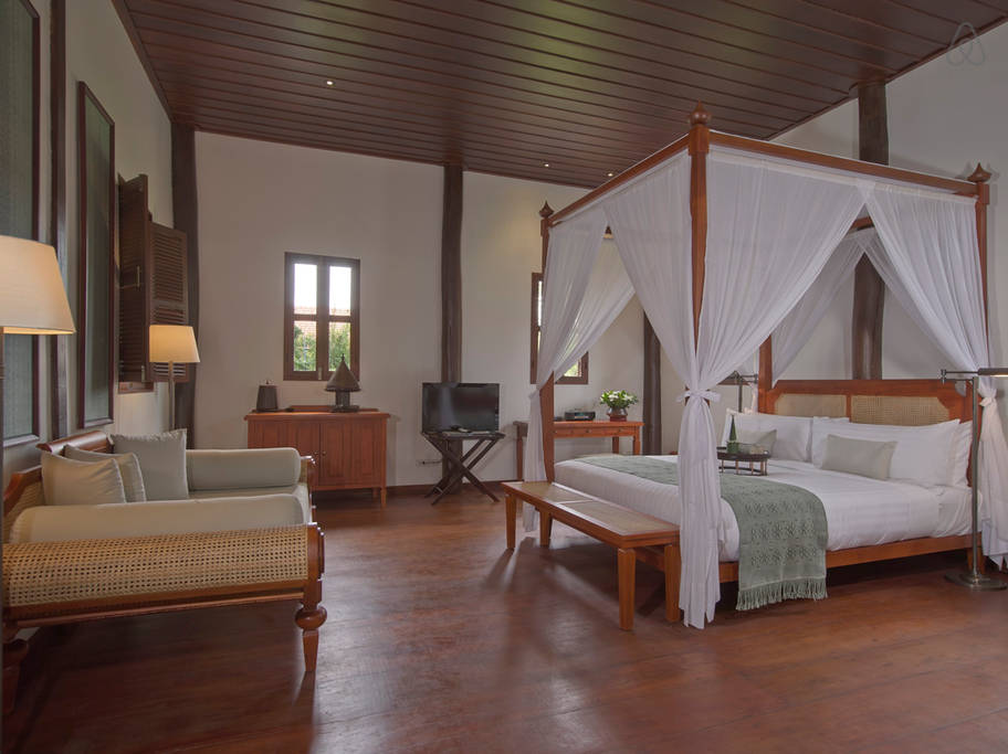 the most expensive Laos home bedroom
