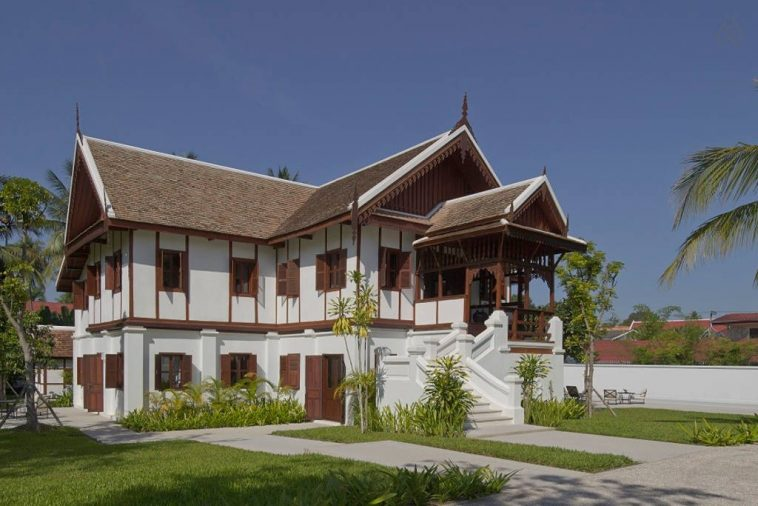 the most expensive private villa in Luang Prabang Laos