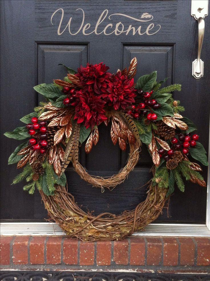 beautiful christmas garland for door