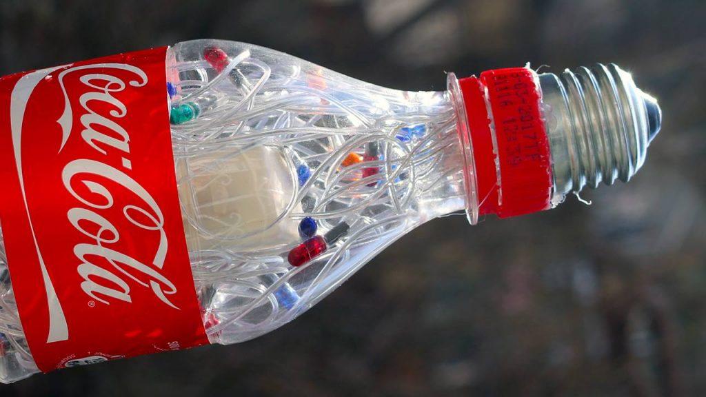 coke bottle christmas lighting