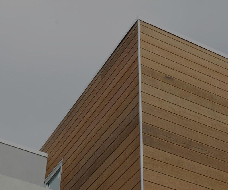 external wooden cladding
