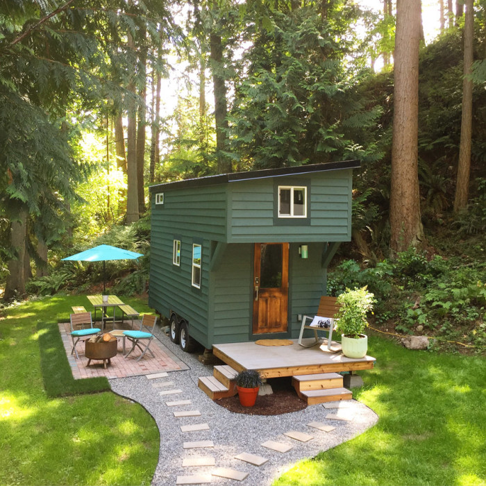 guemes island tiny house airbnb for rent