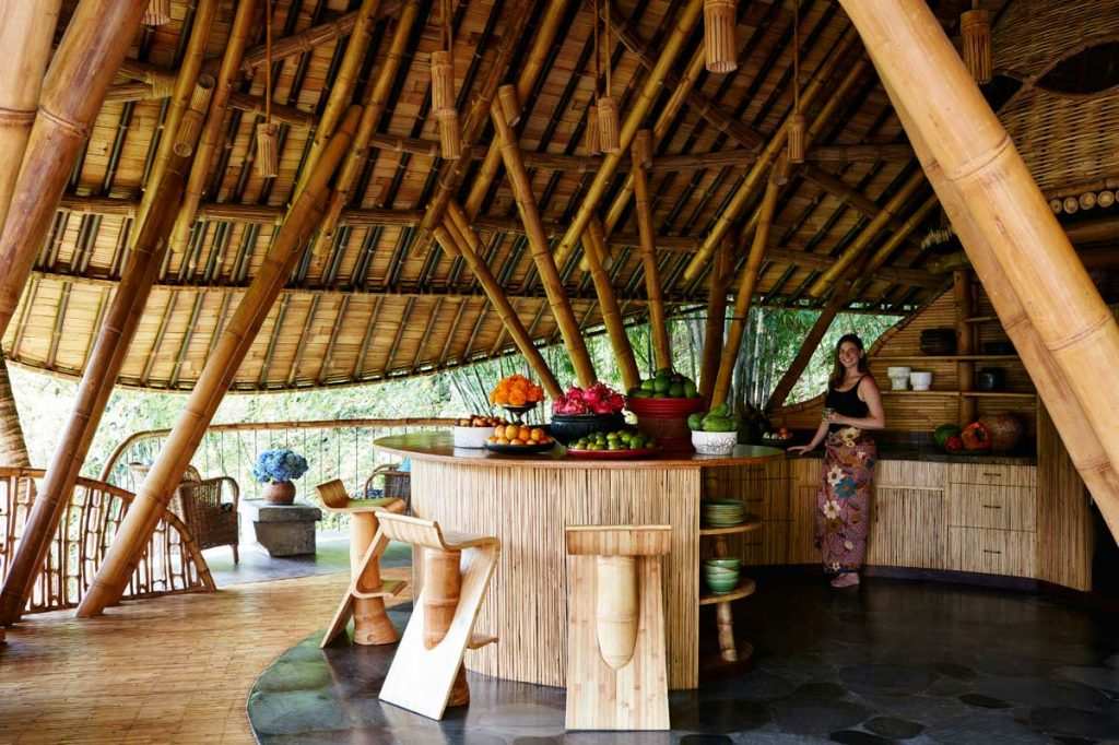 Amelia Hornblow in Ananda House at the Green Village Bali