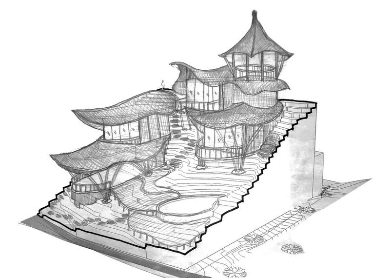 bali house design plan