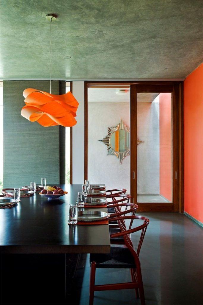 bangalore orange pendant lighting