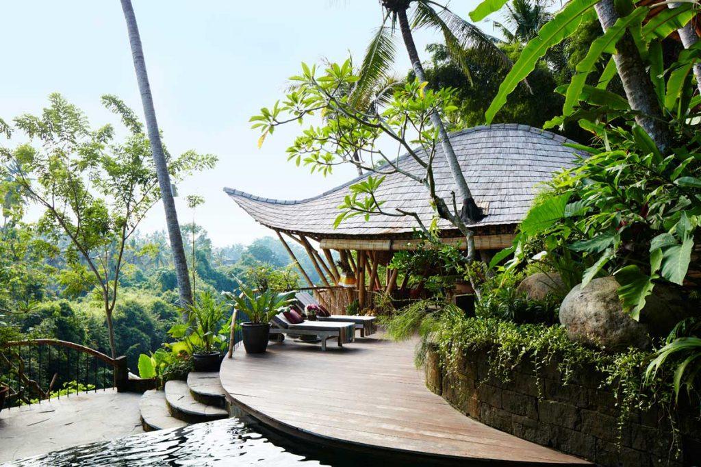 beautiful ananda 3 storey villa in Bali