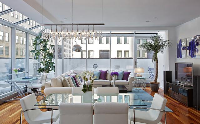 beautiful contemporary living room