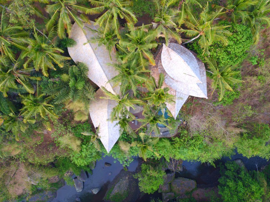 bird eye view of IBUKU Ananda house