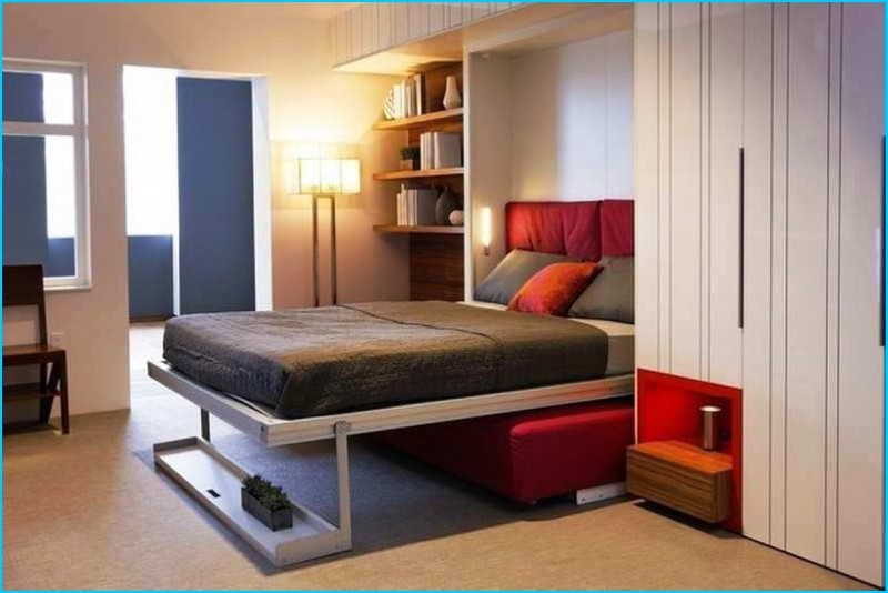 ikea murphy bed fold down and up