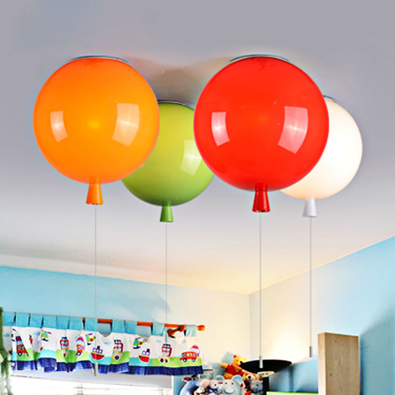 kitchen globe orange lamp