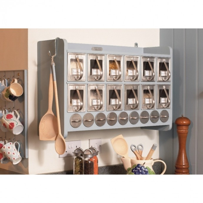 large kitchen cabinet by Ella for spice and drie stuff