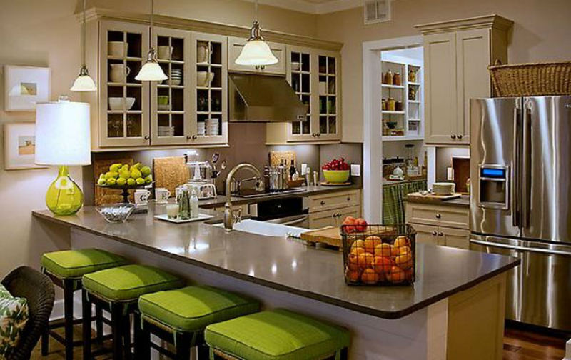 lime and lemon kitchen decor style