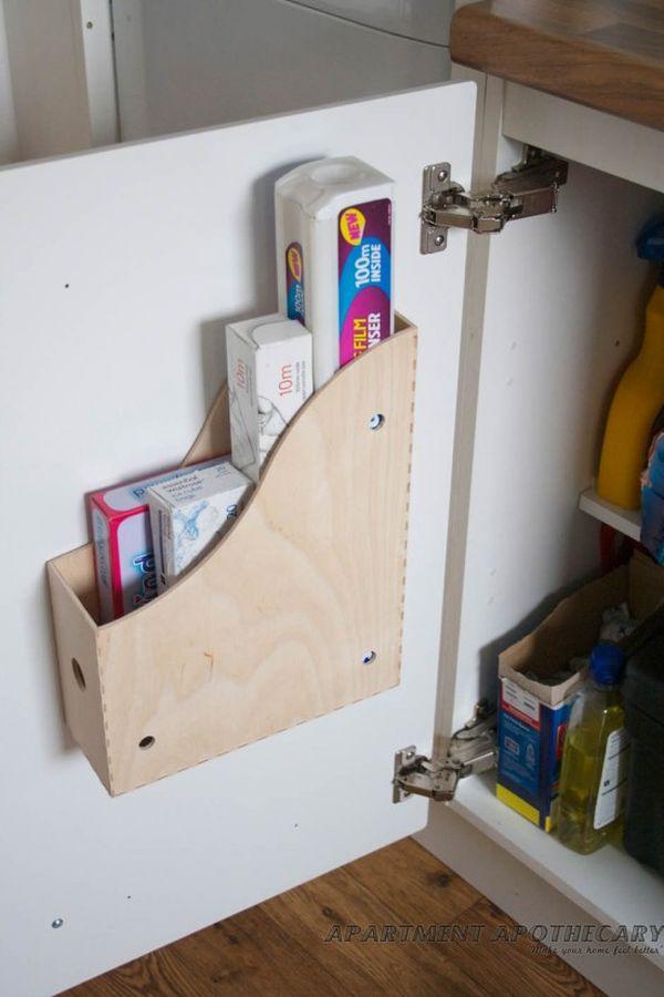 magazine holder rack for tint foil