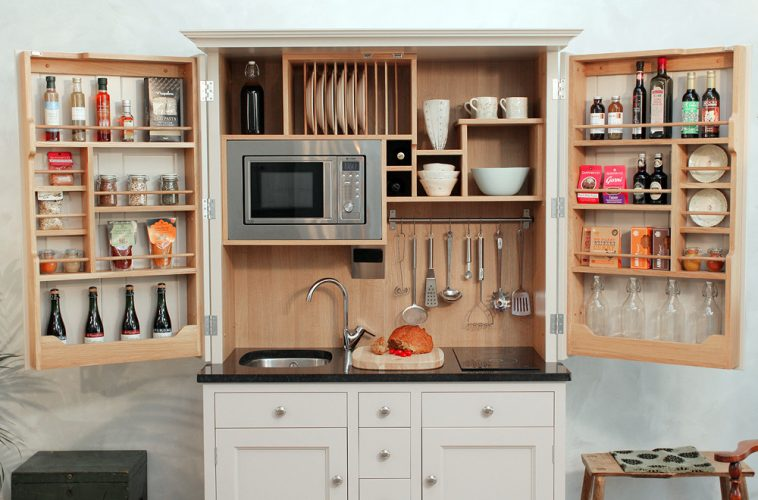 Small Kitchen Cabinets For Studio Apartments Ideas For Small Space